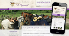 Responsive WordPress website voor Bed & Breakfast in Vaassen, Gelderland