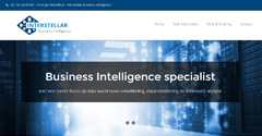 Grafisch ontwerp logo en website Interstellar Business Intelligence, Gelderland