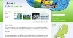 Webdevelopment Kubic recreatie